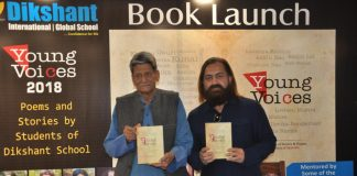 'Young Voices', a collection of stories & poems penned by Dikshant School students released
