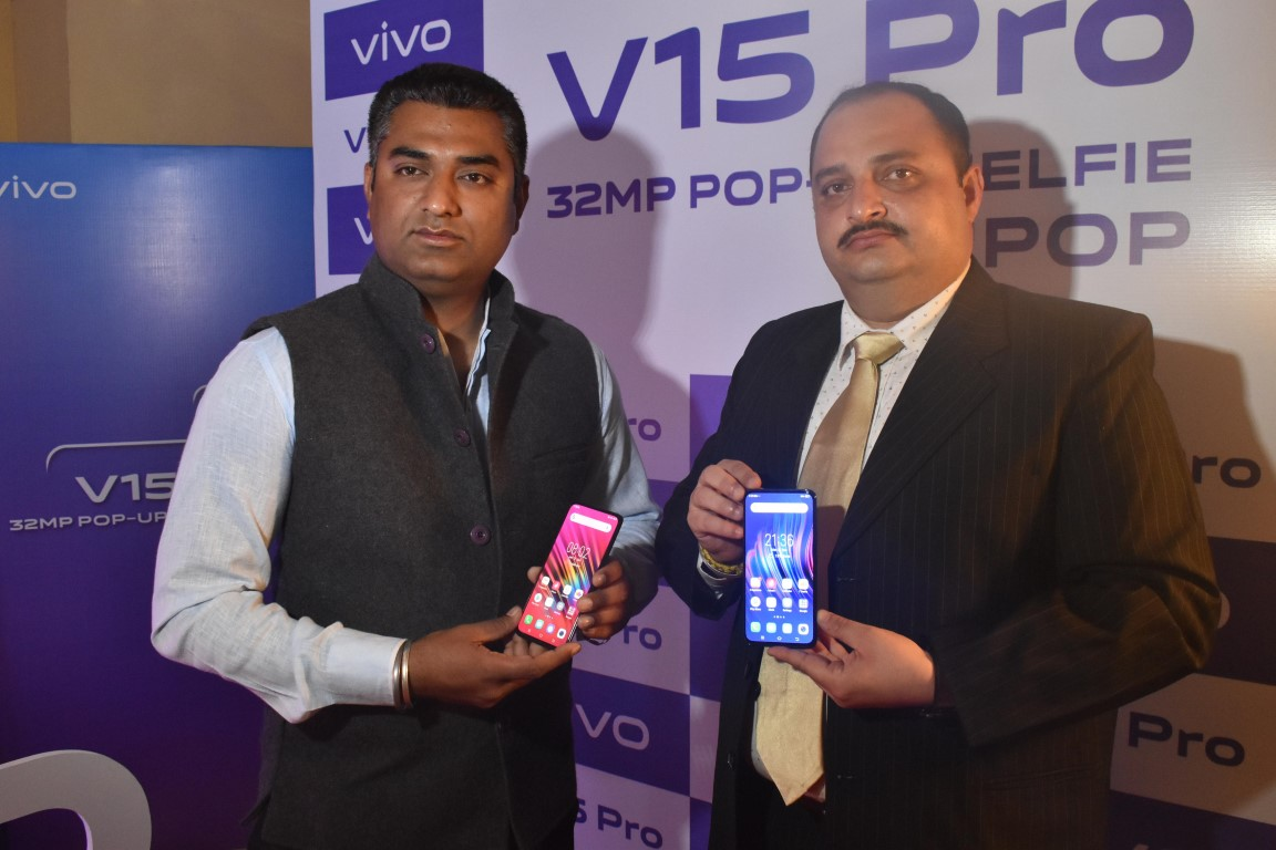 Vivo V15 Pro smartphone with World's first 32 mp Pop-up Selfie Camera Launched