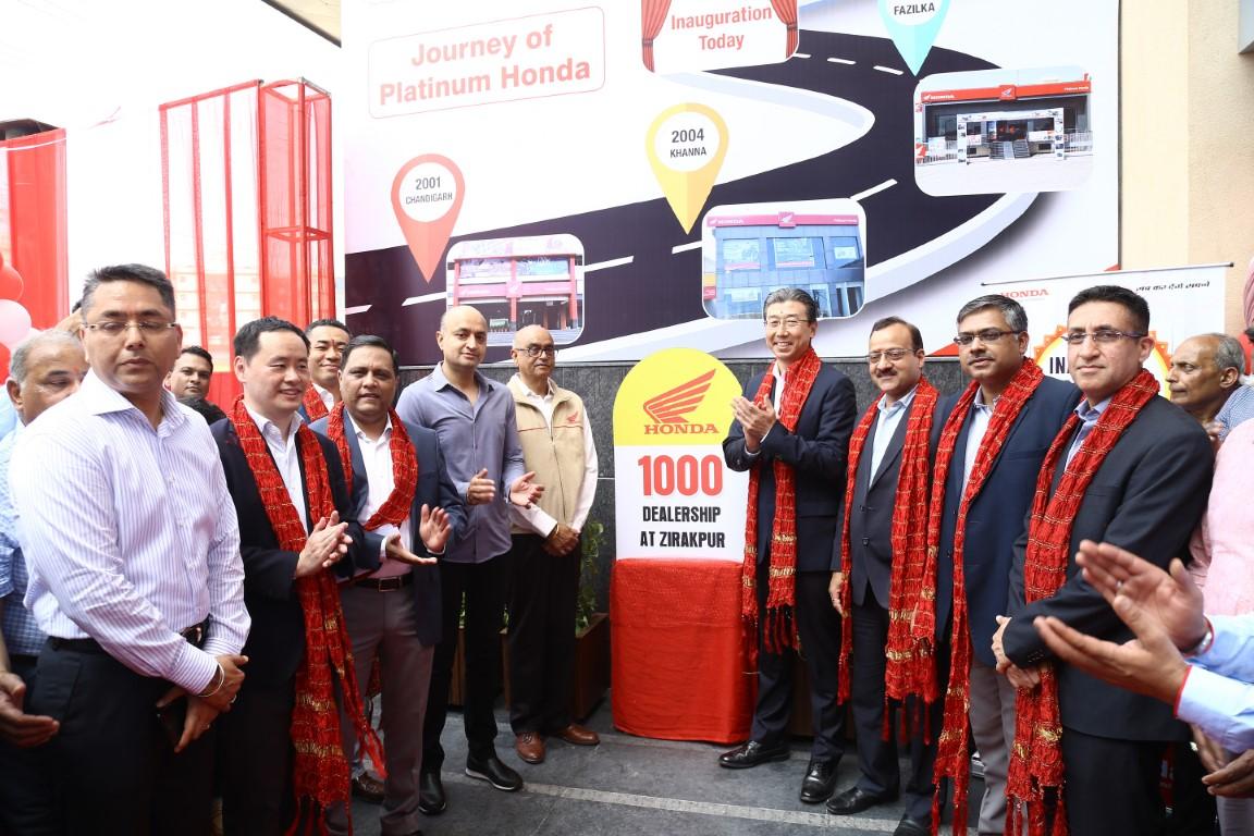 Honda Celebrates its 1000th Dealer Network