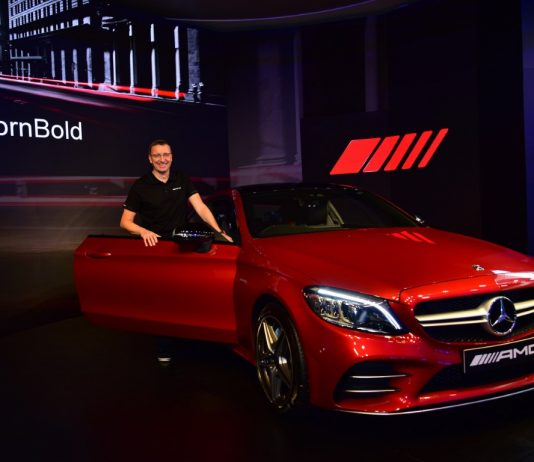 Mercedes-Benz launches the new AMG C 43 4MATIC Coupé