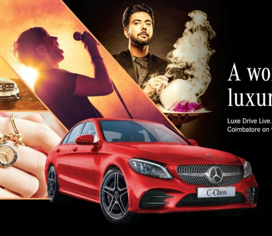 5th edition of Luxe Drive Live 2019 kicks-off by Mercedes-Benz India