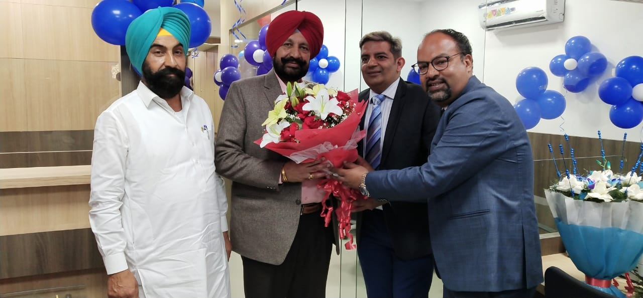 Branch inaugurated by Shri. Balbir Singh Sidhu, Cabinet Minister - Government of Punjab The Bank plans to open five more branches in Punjab this year.
