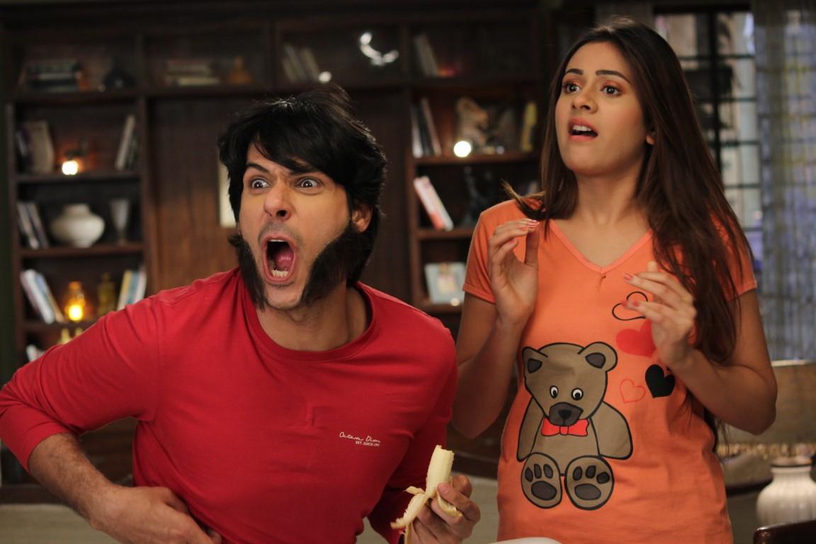 Pancham turns into a monkey on Sony SAB's Jijaji Chhat Per Hain