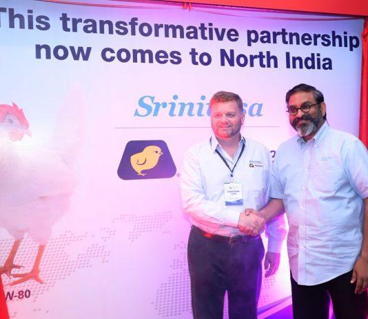Srinivasa Farms & Hy-Line International enter North India!!