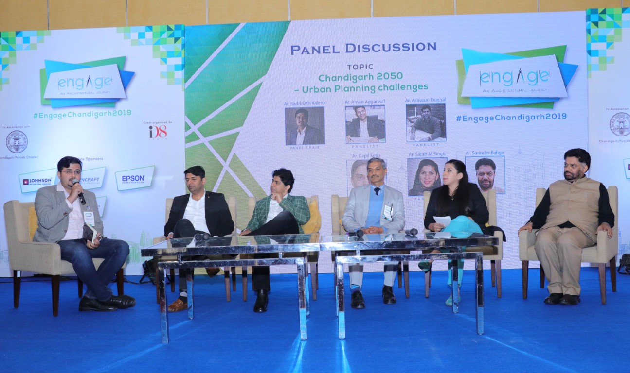 Architects come together for Engage Chandigarh