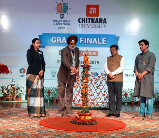 Smart India Hackathon 2019 Grand Finals held at Chitkara University