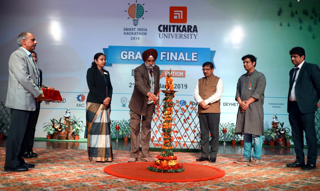 Smart India Hackathon 2019 Grand Finals held at Chitkara University