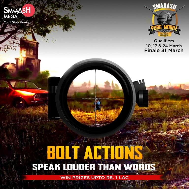 Smaaash PUBG Mobile League Season 1 launched