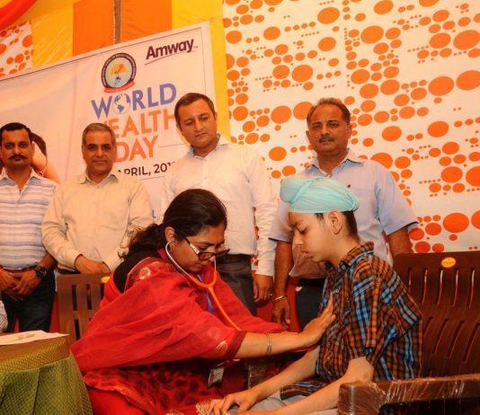 Amway India celebrates World Health Day