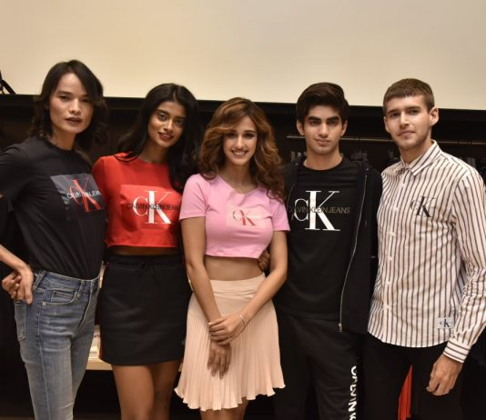 The Spring 2019 Calvin Klein jeans collections with Disha Patani