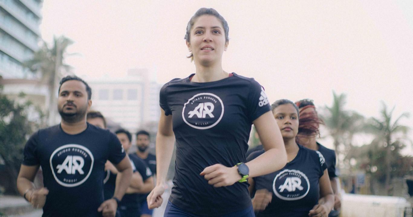 "Adidas launches new running film ""Always Running"""