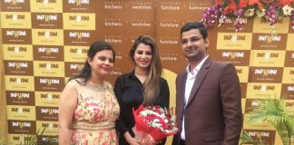 Actress Kainaat Arora inaugurated Infurni Furniture Studio