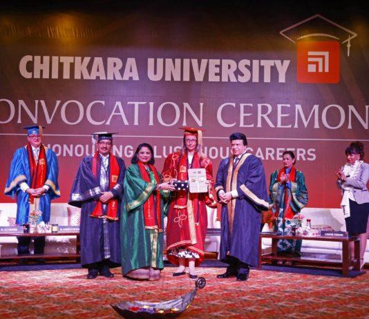 Chitkara University's Honorary Doctorate for Josef M Ullmer