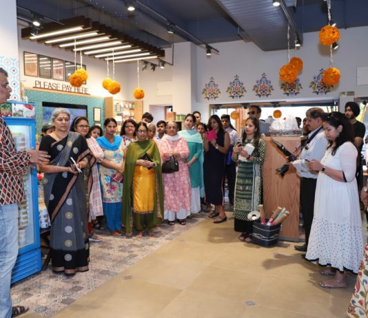 Fabindia launches an experience center in Chandigarh