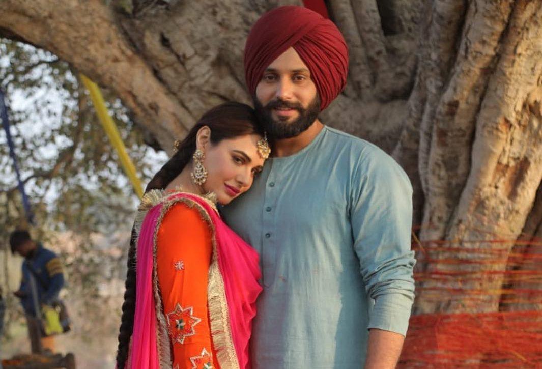 Let's introduce the Saak hero Jobanpreet Singh as Fauji Karam Singh