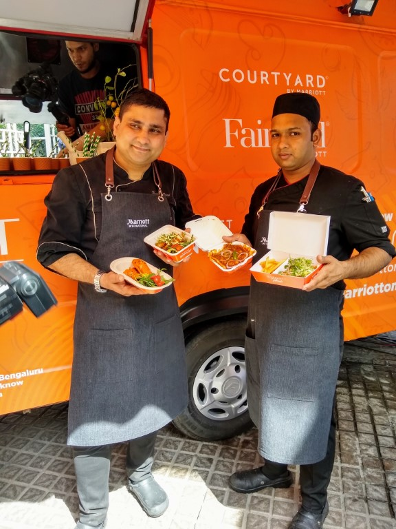 Marriott launches its first ever Food Truck - Marriott on Wheels!