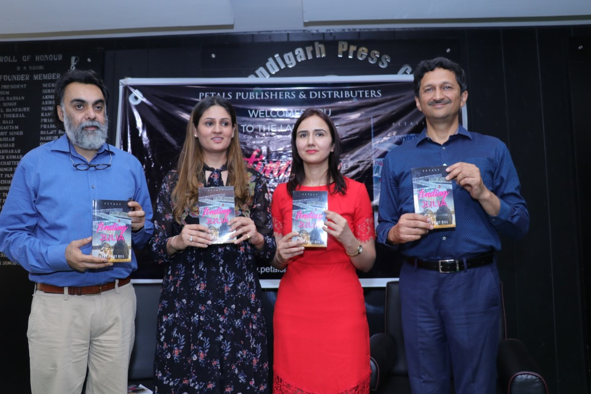 Dr. Rana Preet Gill launches her second book-Finding Julia