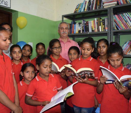 Public Library at Don Bosco Savera inaugurated