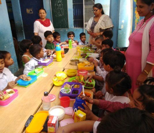 Maharishi Dayanand Public School celebrated Balanced diet Day