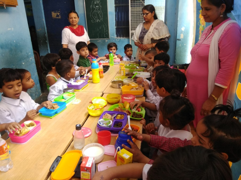 Maharishi Dayanand Public School celebrated Balanced diet Day