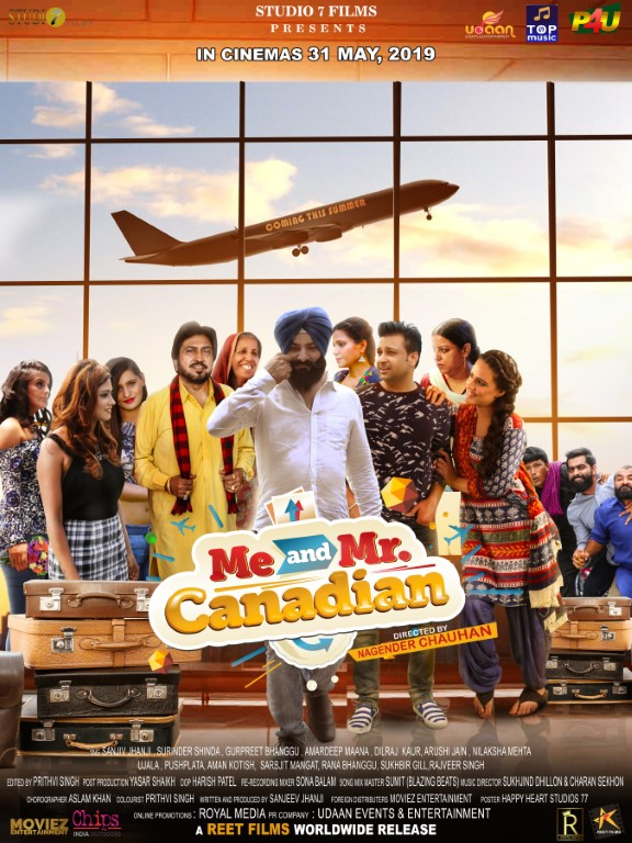 New Punjabi comedy film 'Meen and Mr. Canadian' releasing on May 31