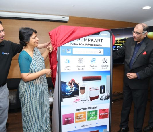 Pumpkart's app unveiled by Punjab IAS officer - Vini Mahajan