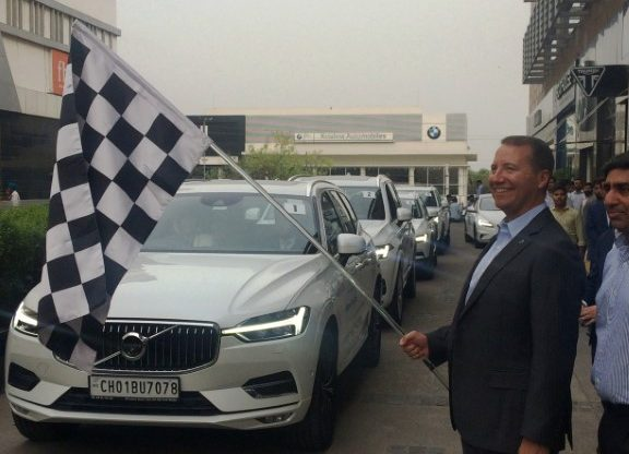 Volvo Car organises a women-only car drive