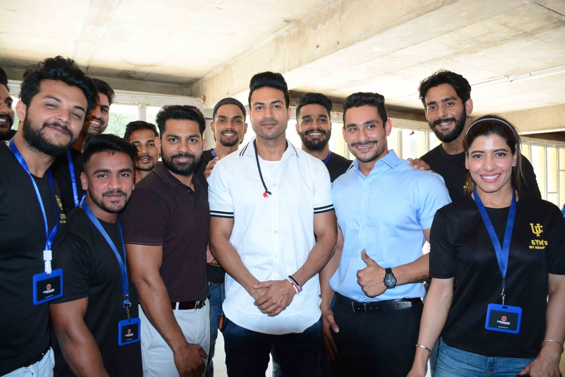 Ultimate Fitness organized a motivational event at PU's Law Auditorium