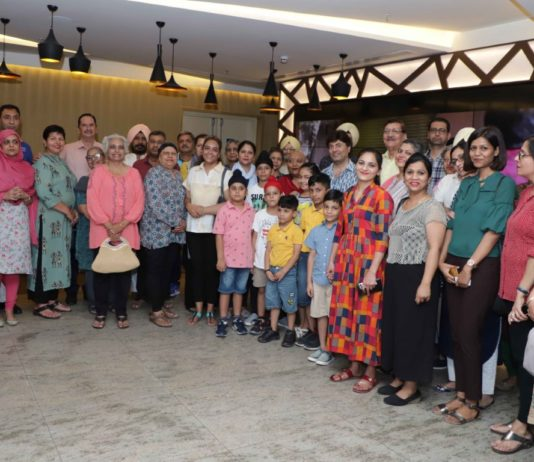 Cancer Survivors' Day turns extra special with movie date
