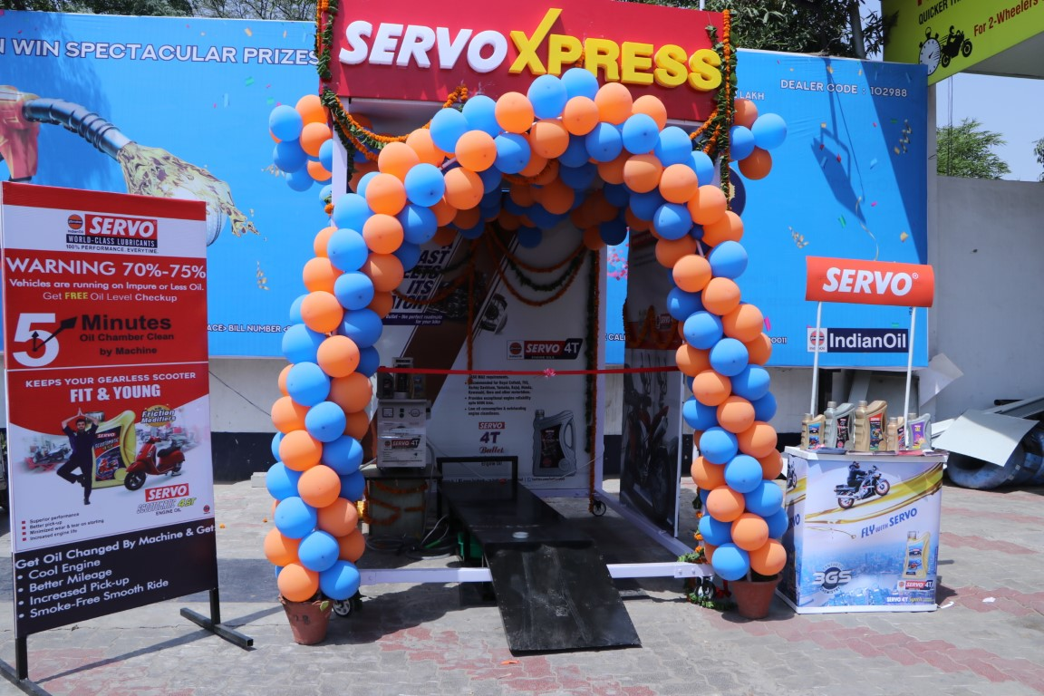 City gets ServoXpress facility at 5 IOCL retail outlets