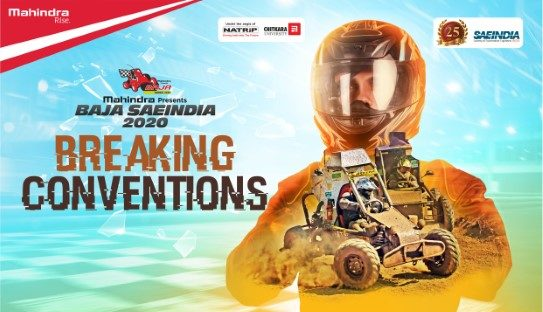 Registrations for Mahindra BAJA SAEINDIA 2020 Open