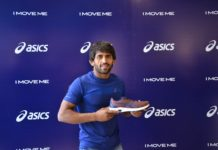 ASICS India forays into wrestling with their newest Athlete Bajrang Punia