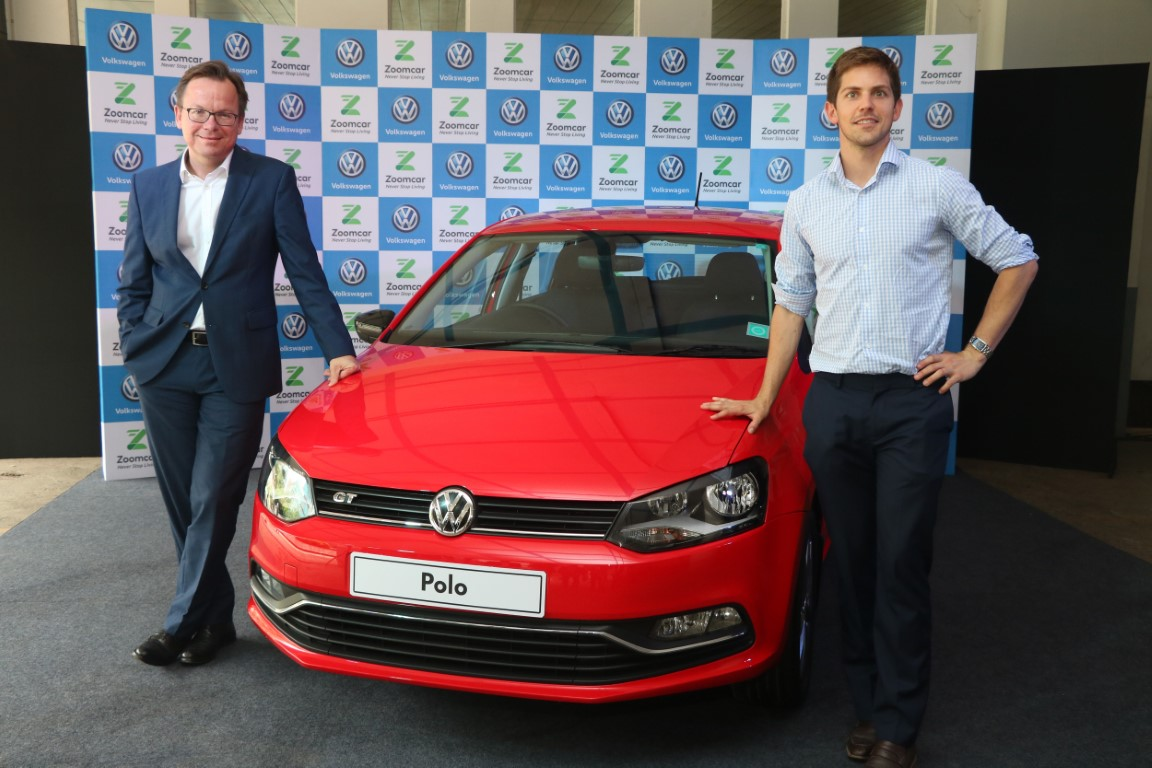 Volkswagen partners with Zoomcar to strengthen shared mobility offering in India