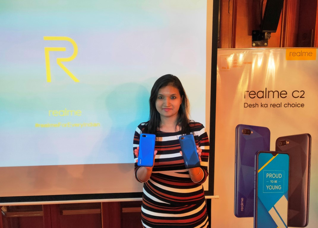 Realme C2 to be launched in offline markets from 15th June 2019