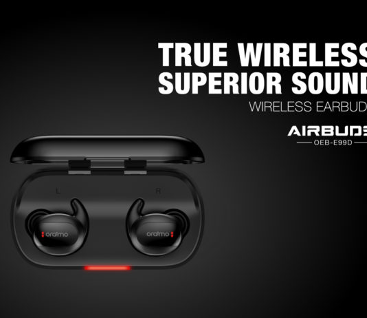 oraimo unleashes wireless earbus 'Airbuds E99D'