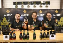 Auric, World's first all-natural beverages for Mind, Body and Skin