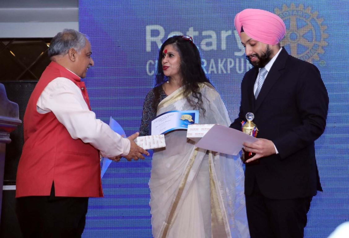 First Installation ceremony of Rotary Club Zirakpur held