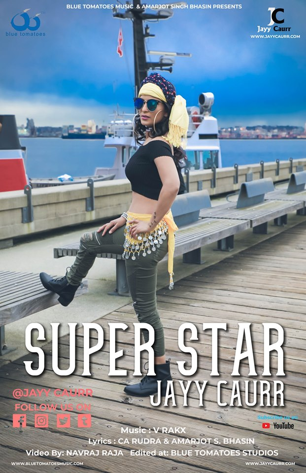 JAYY CAURR Launches her first Indipop single SUPERSTAR