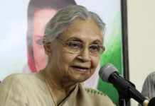 Former Delhi CM Sheila Dikshit Passes Away at 81