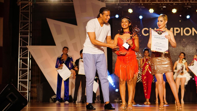 Chandigarh girl shines in 'Asian Dance Championship'