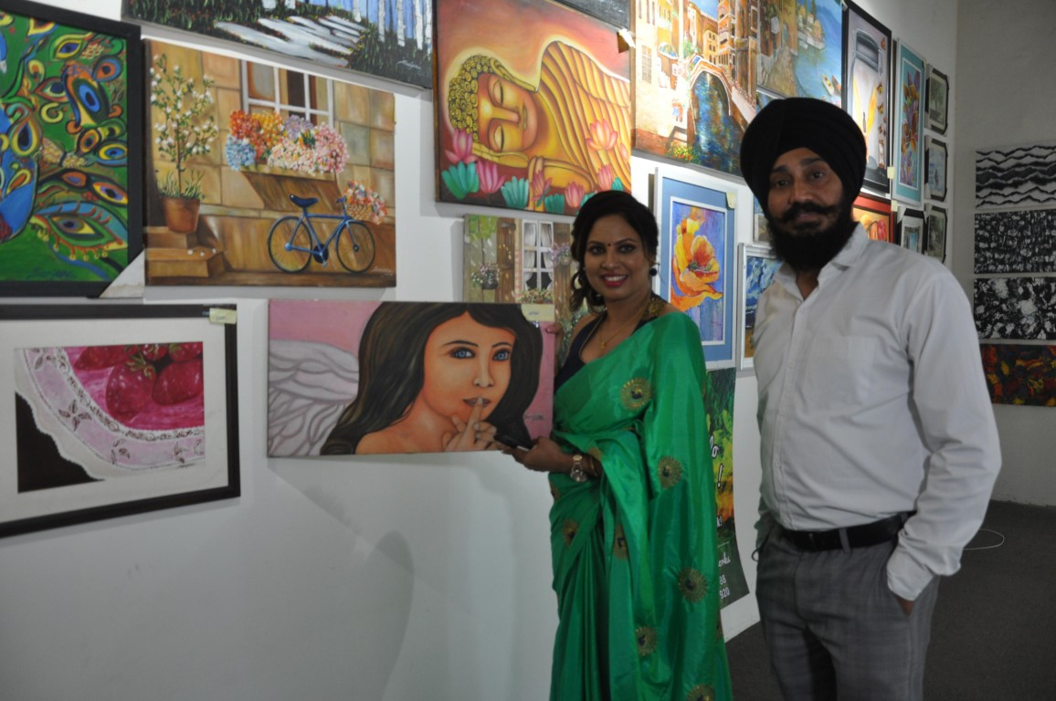 Origin Art Fair 19-an art exhibition showcasing works of 12 artists starts