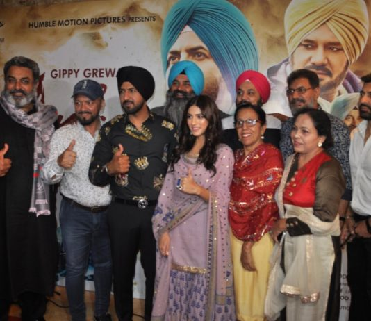 Music launch party of upcoming Punjabi film 'Ardaas Karaan' held