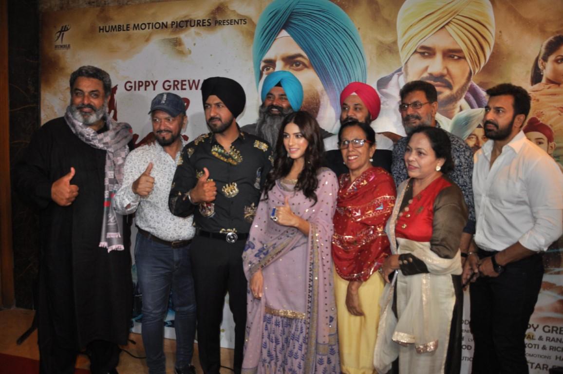 Music launch party of upcoming Punjabi film 'Ardaas Karaan' held