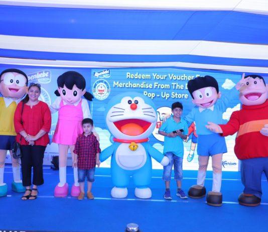 'Me Time with Doraemon' kicks off at VR Punjab
