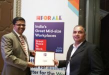 Adani Enterprises awarded 'India's Great Place to Work 2019'