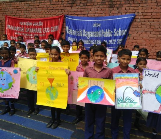 Poster Making Competition Organised on World Population Day