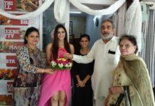 Samaira Sandhu visits Gauri Foods