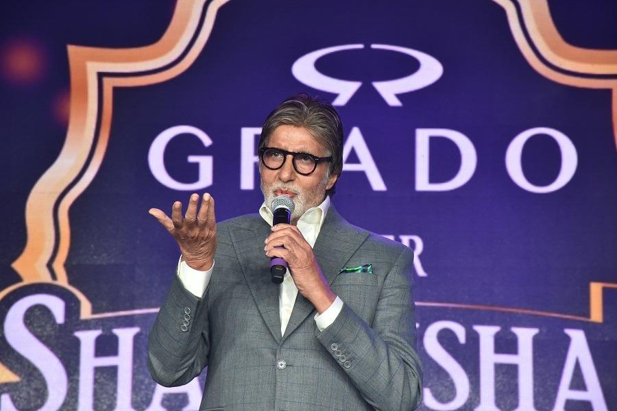 Grado Super Shahenshah meet a huge Success with Amitabh Bachchan as a Brand Ambassador