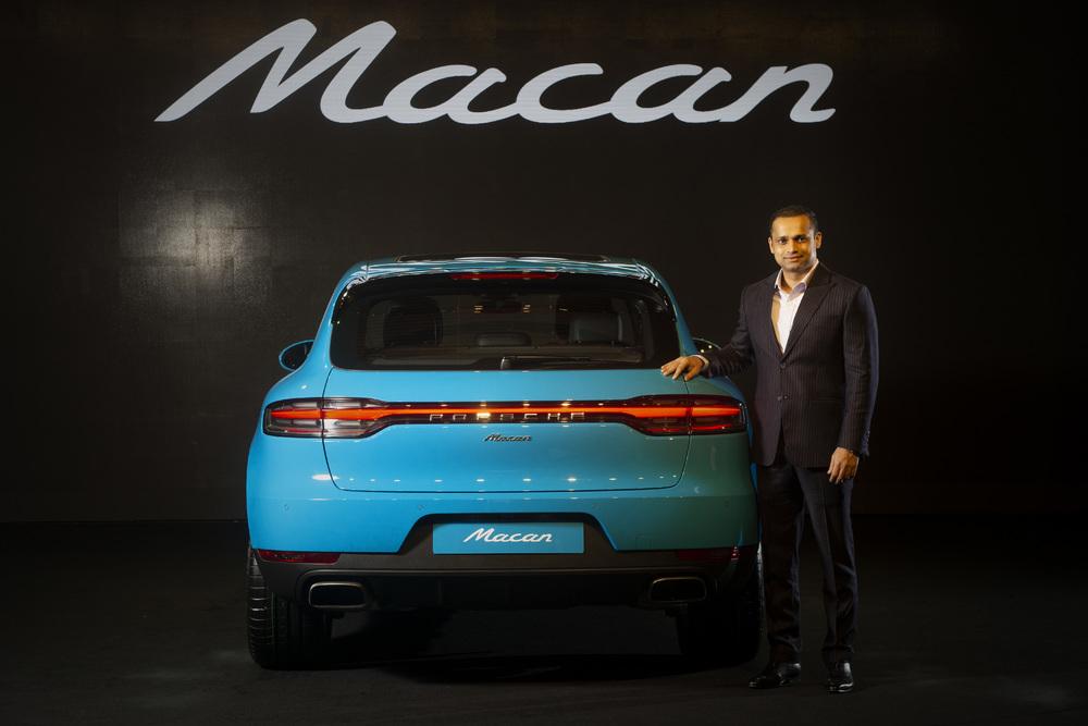 Porsche India welcomes the new Maca