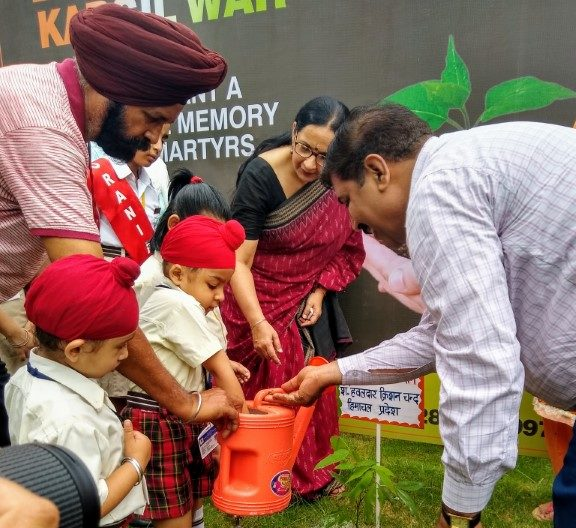 Gillco International School Commemorates 20 Years of Kargil War